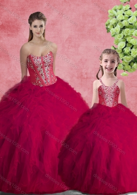 Lovely Ball Gown Sweetheart Princesita With Quinceanera Dresses with Beading