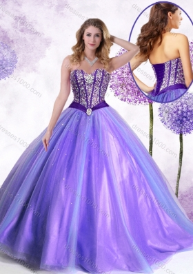 New Arrivals Ball Gown Lavender Quinceanera Gowns with Beading