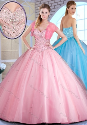 Top Selling Ball Gown Ball Gown Sweet 16 Dresses with Beading