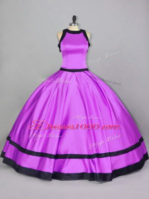Sleeveless Ruching Zipper Quinceanera Dress