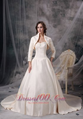 Luxurious champagne the 25th anniversary in wedding dress for Dress for 25th wedding anniversary