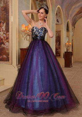Prom / Pageant Dress Leopard and Organza Colorful