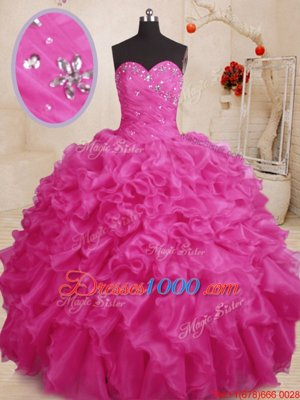 Glamorous Floor Length Blue Quinceanera Dresses Sweetheart Sleeveless Lace Up