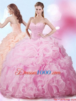 Apple Green Sleeveless Tulle Lace Up Quinceanera Gowns for Military Ball and Sweet 16 and Quinceanera