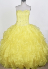 Gorgeous Ball Gown Sweetheart Floor-length Quinceanera Dress