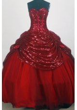 Pretty Ball Gown Sweetheart Floor-length Quinceanera Dress