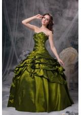 Discount Sweetheart Pick-ups Quincianera Dresses with Appliques