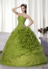 Sweetheart Quinceanera Dresses Gowns with Beading and Ruffles