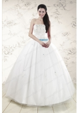 In Stock White Quinceanera Dresses with Appliques