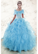 Most Popular Ball Gown Sweetheart Quinceanera Gowns in Sweet 16