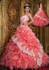Fashionable Ball Gown Floor Length Ruffles Quinceanera Dresses