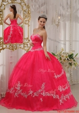 New Style Ball Gown Sweetheart Appliques Quinceanera Dresses
