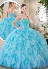 Cheap Sweetheart Beading Quinceanera Dresses for 2016