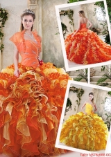 Exclusive Sweetheart Quinceanera Dresses with Zipper Up