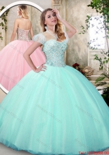 Fashionable Sweetheart Quinceanera Dresses with Beading