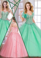 Exclusive Sweetheart Quinceanera Dresses with Beading