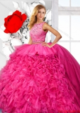 Luxurious Ball Gown Quinceanera Dresses with Beading and Ruffles