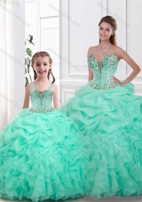 Beautiful Sweetheart Princesita With Quinceanera Dresses with Pick Ups and Ruffles for Spring