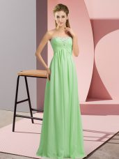 Custom Fit Apple Green Sweetheart Neckline Beading Dress for Prom Sleeveless Lace Up,Silhouette: EmpireNeckline: sweetheartSleeve Length: sleevelessHemline/Train: floor lengthBack Detail: lace upEmbellishment: beadingFabric: chiffonShown Color: apple green(Color & Style representation may vary by monitor.)Occasion: prom,party,military ballSeason: spring,summer,fall,winterFully Lined: YesBuilt-In Bra: Yes