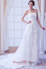 Princess Lace Sash Wedding Dress Bridal For Guest
