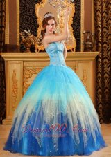 Multi-color Sweetheart Beading Ball Gown Dress for Quinceanera