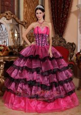 Trendy Quinceanera Dress Sweetheart Organza Ruffles