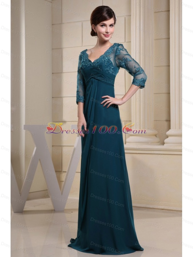 Mother Of The Bride Dresses Teal 45