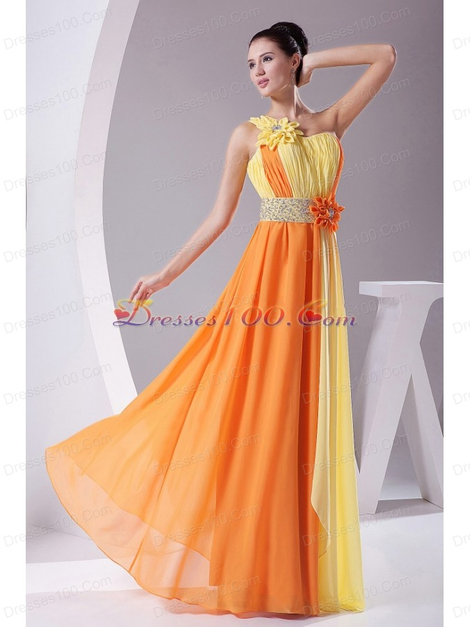 Yellow And Orange Prom Dresses 47