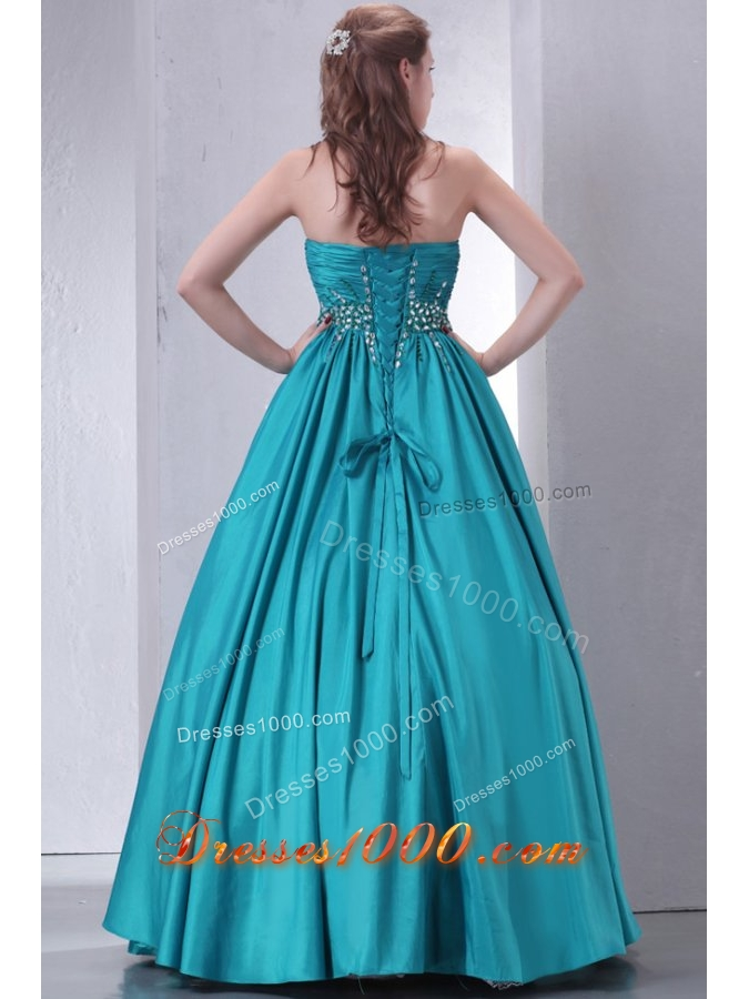 Fancy Paillettes and Ruching Taffeta Dresses for Sweet 15