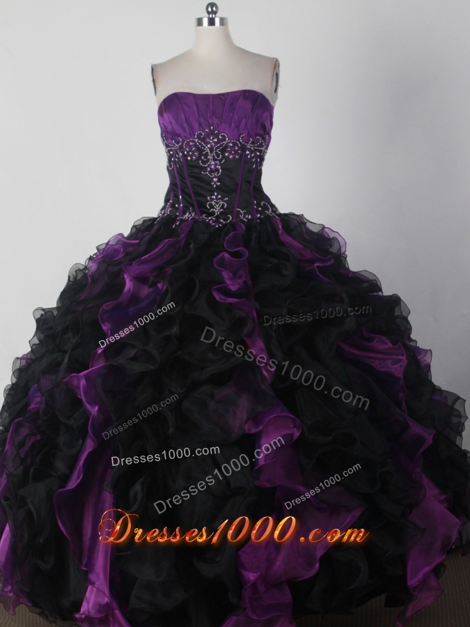 Brand New Ball Gown Strapless Floor-length Quinceanera Dress