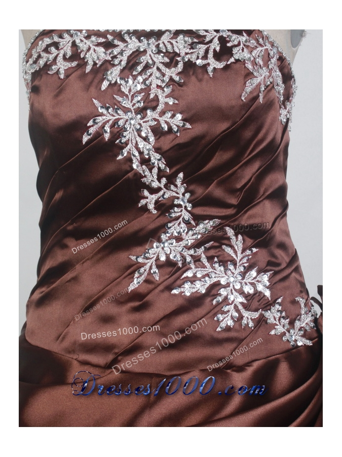 Discount Ball Gown Strapless Floor-length Burgundy Quinceanera Dress