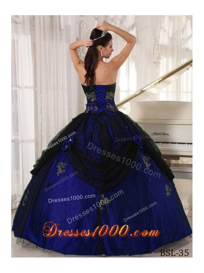 Ball Gown Strapless Pretty Quinceanera Dress with  Beading and Appliques