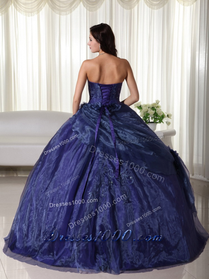 2016 Ball Gown Strapless Floor-length Quinceanera Dress with Beading
