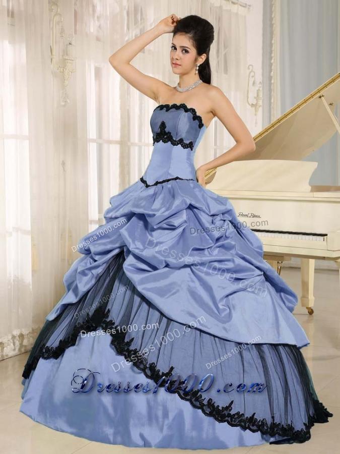 2014 Elegant Appliques Quinceanera Dresses For Custom Made