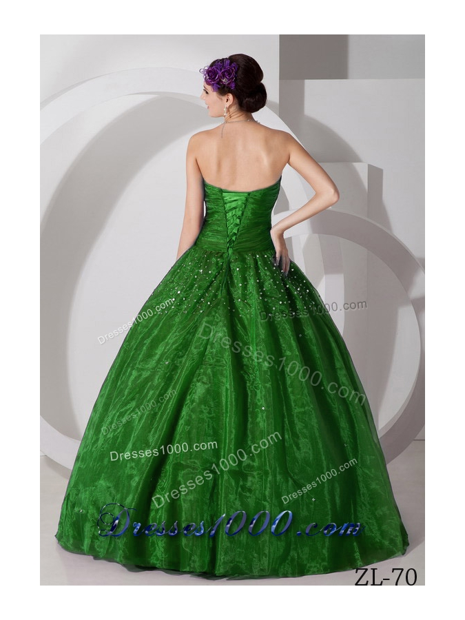 2014 Princess Sweetheart Ruching and Beading Quinceanea Dresses for