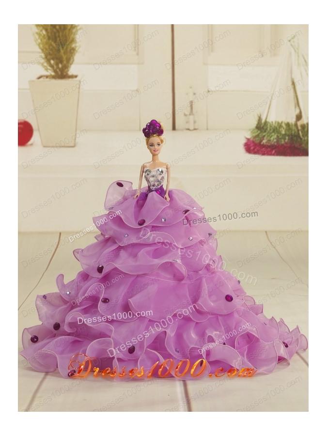 2015 Elegant Sweetheart Ruffles Quinceanera Dresses in Multi-color