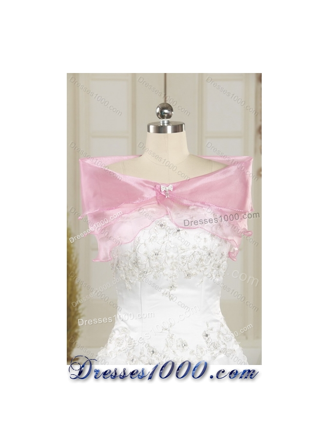 2015 Designer Multi Color Strapless Quinceanera Dresses with Ruffles and Beading