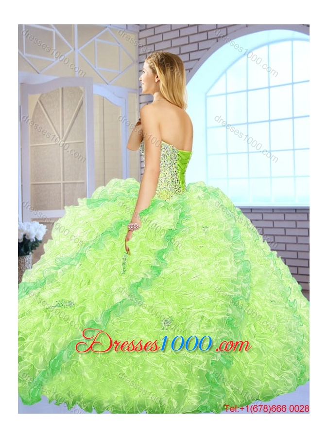 Fashionable Best Selling Ball Gown Sweetheart Quinceanera Dresses for 2016