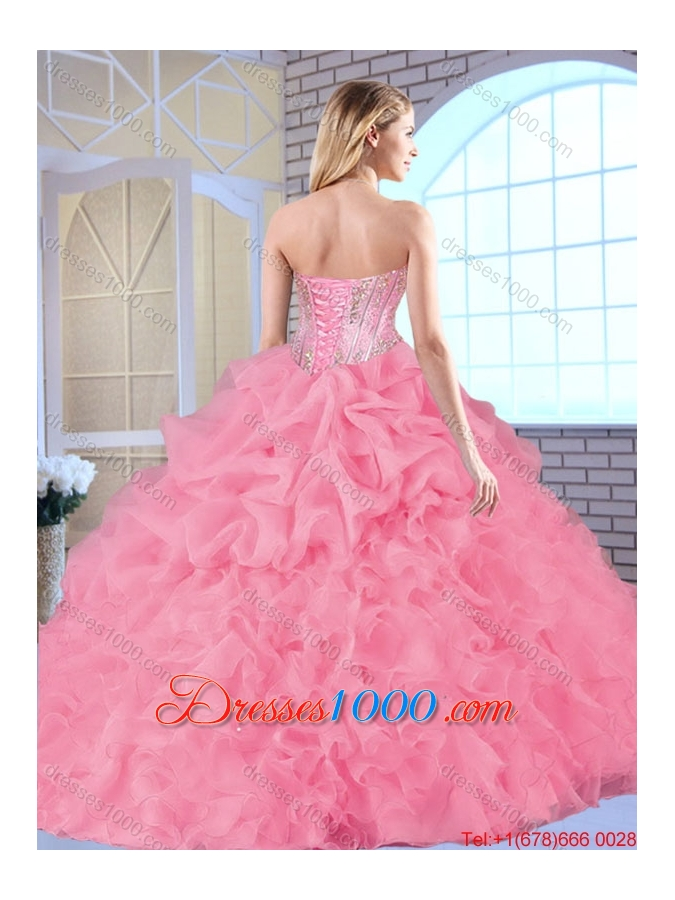 Fashionable Exclusive Sweetheart Quinceanera Dresses Beading and Ruffles