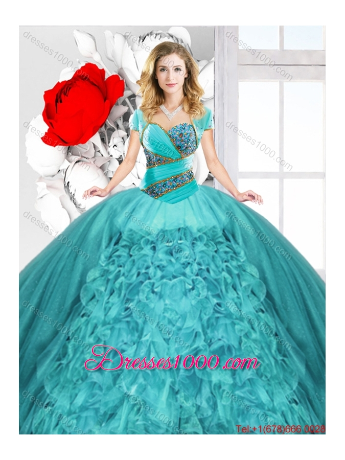 New Style Sweetheart Quinceanera Dresses with Lace Up
