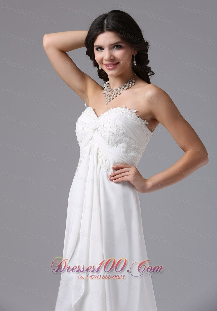 High low lace ruched sweetheart bridal dresses romantic for High low sweetheart wedding dress