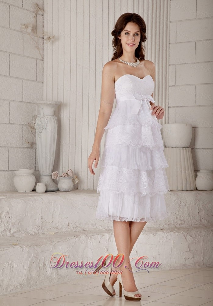 sassy short wedding dresses