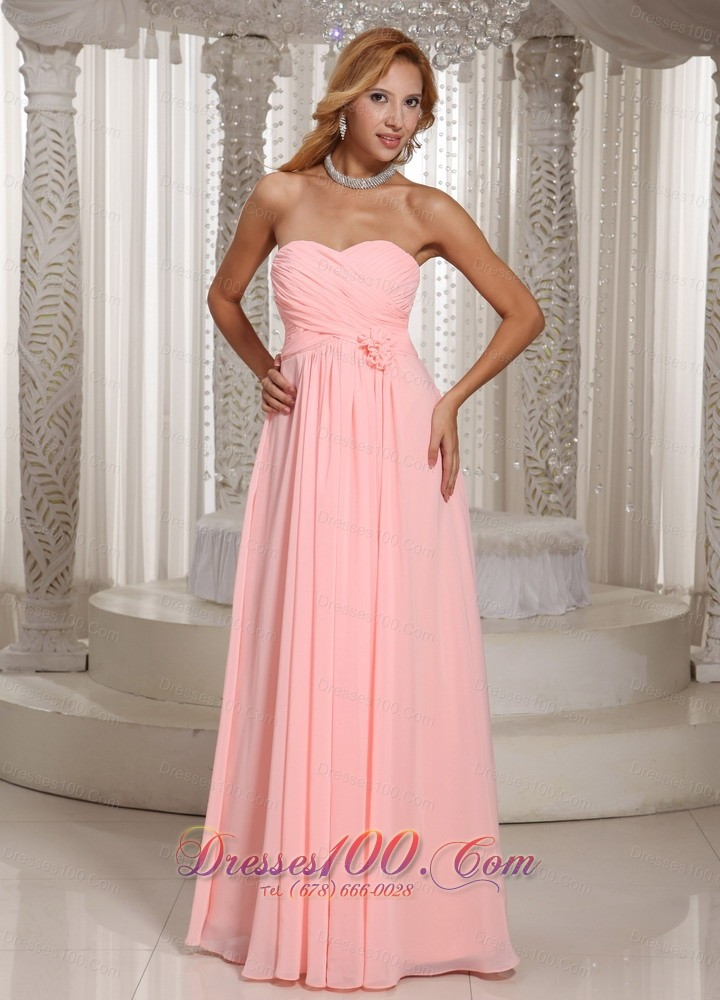 Baby Pink Bridesmaid Dresses 74