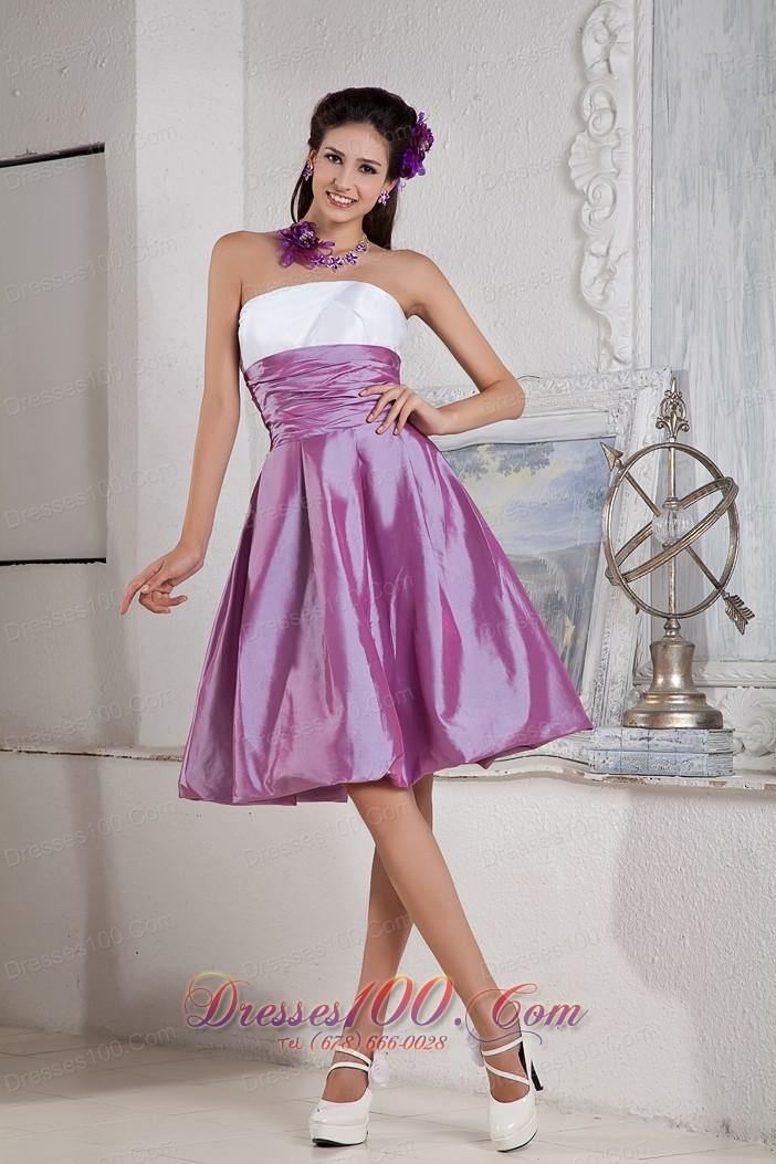 Lavender and White Bridesmaid Dress Empire Under 100 |New Bridesmaid ...