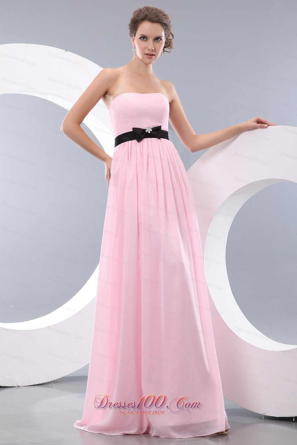 Baby pink empire bow belt bridesmaid dress maxi colored discount baby pink empire bow belt bridesmaid dress maxi colored ombrellifo Images