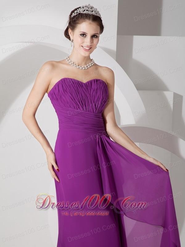 Dark Magenta Bridesmaid Dresses