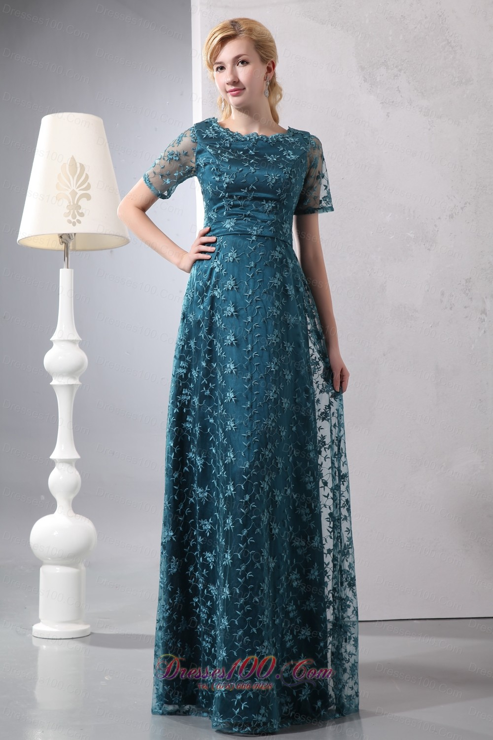 Peacock Mothers Dresses