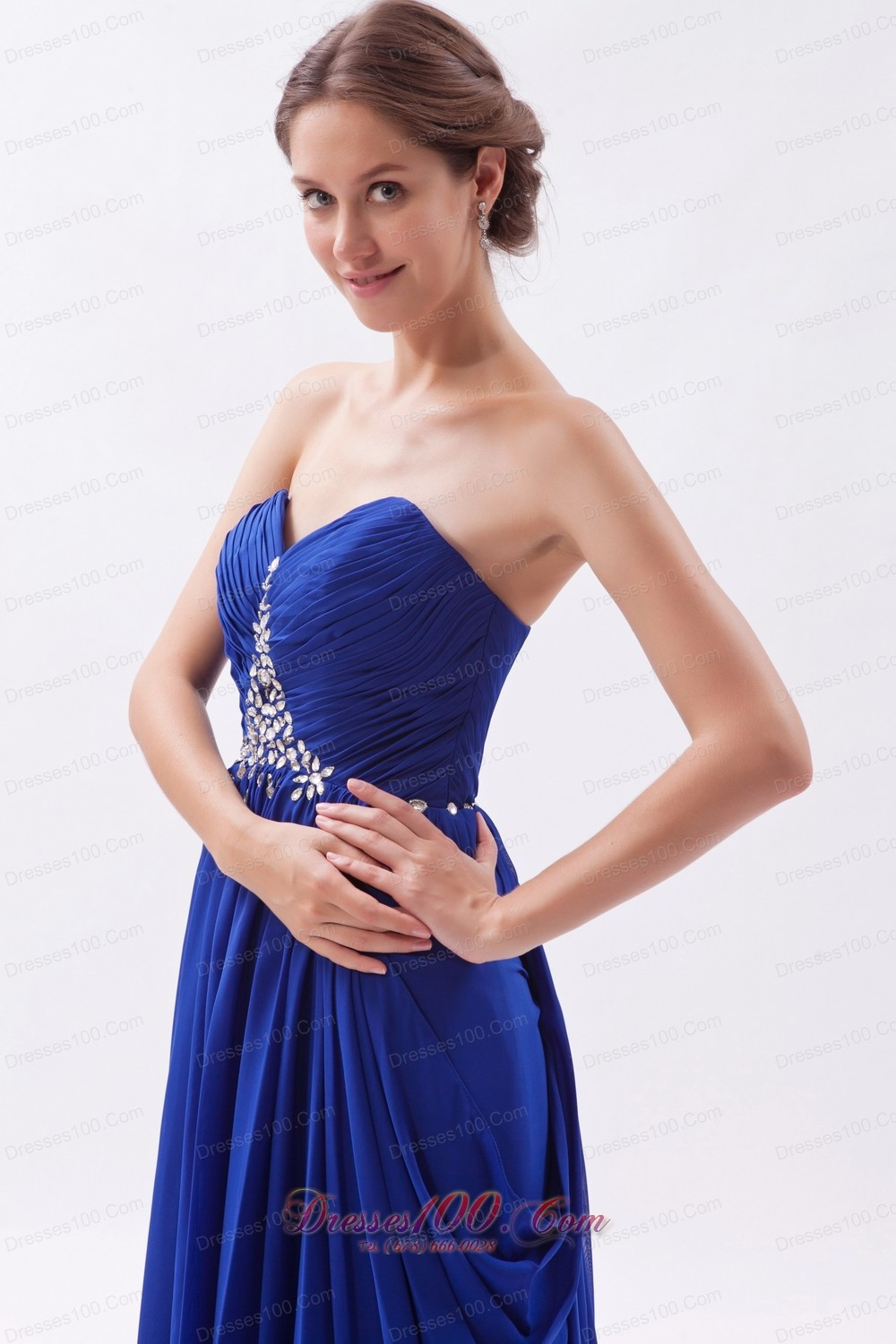 Elegant weetheart prom party dress brush discount prom dresses