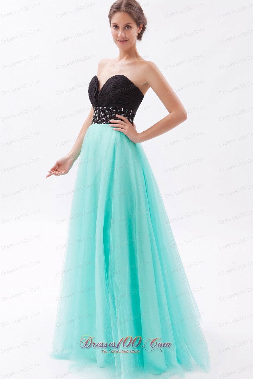 Pretty Prom Maxi Dress Sweetheart Crystal |Discount Prom Dresses