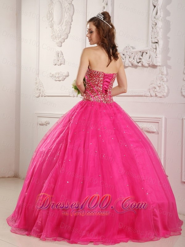 Princess Sweetheart Beading Puffy Ball Gown for Quinceanera